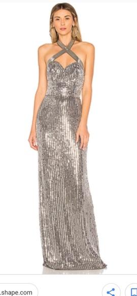 55511a0fd74 Nwot Parker black sophie grey gown
